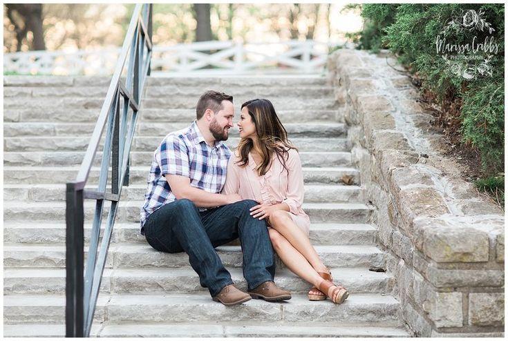 Leah & Michael Engagement | Loose Park Engagement Photos | KC Photographers | Marissa Cribbs Photography | KC Wedding Photographers_0811.jpg