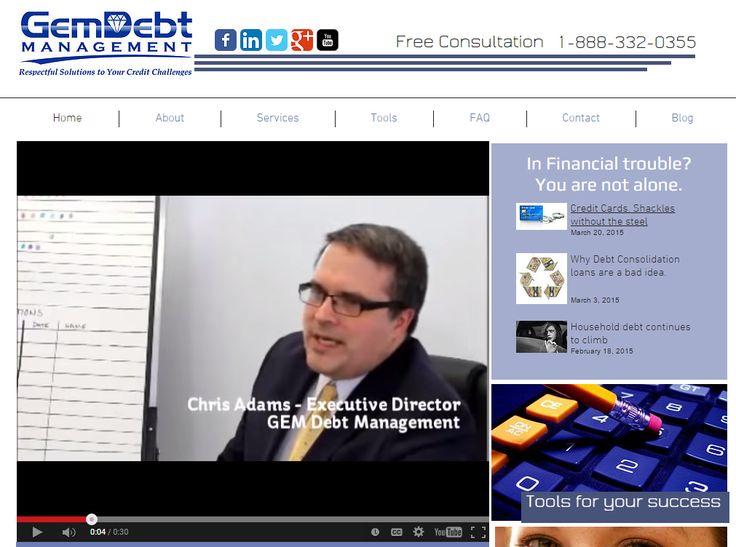 GEM Debt Management Website