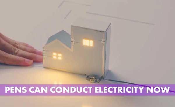 Piccoli elettricisti crescono: AgIC è una società giapponese che ha inventato una penna magica. La penna può creare veri e propri circuiti elettrici.