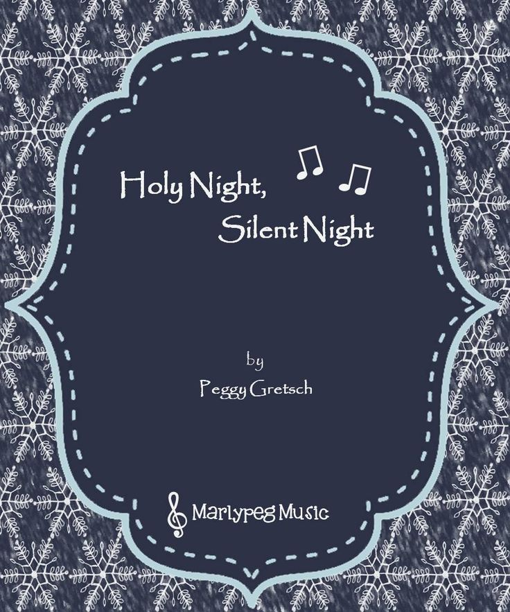 "Do you have a WINTER CONCERT coming up?  ""Holy Night, Silent Night "" a beautiful arrangement for elementary school choirs, offers a heartfelt partner song to the traditional ""Silent Night."" The music, written in the key of A major, also provides a unique opportunity for your choir's lower voices to carry the melody, while the upper voices shine from above."