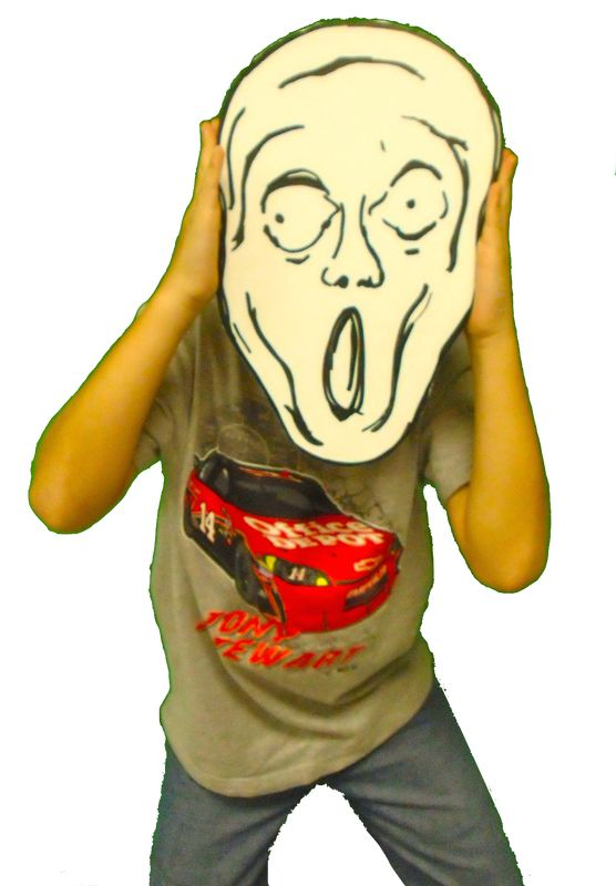 What Makes You SCREAM? - Dryden Art