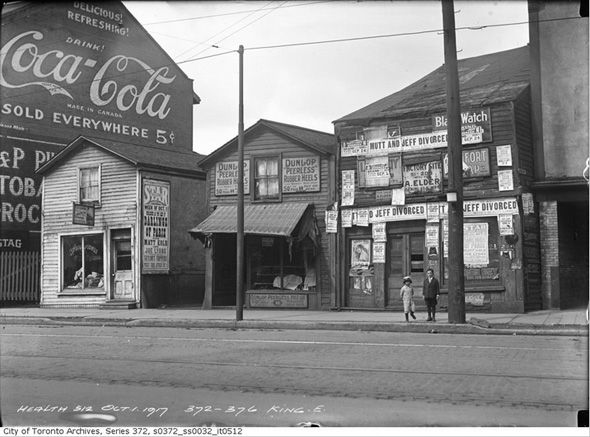 What Corktown used to look like in Toronto. #Toronto #History #Vintage