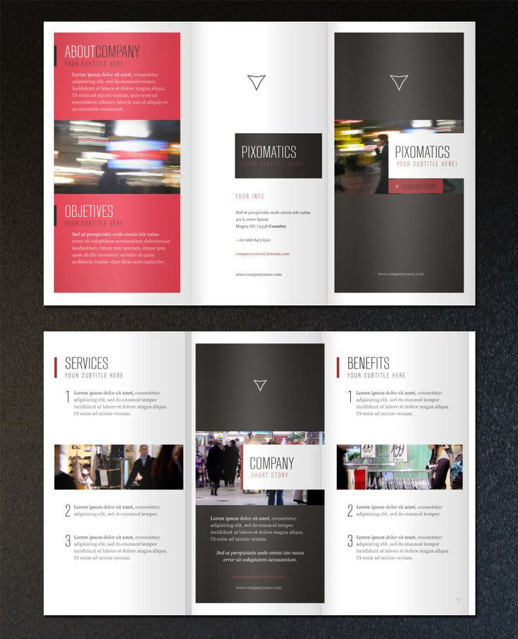 32 best Tri fold Brochures images on Pinterest