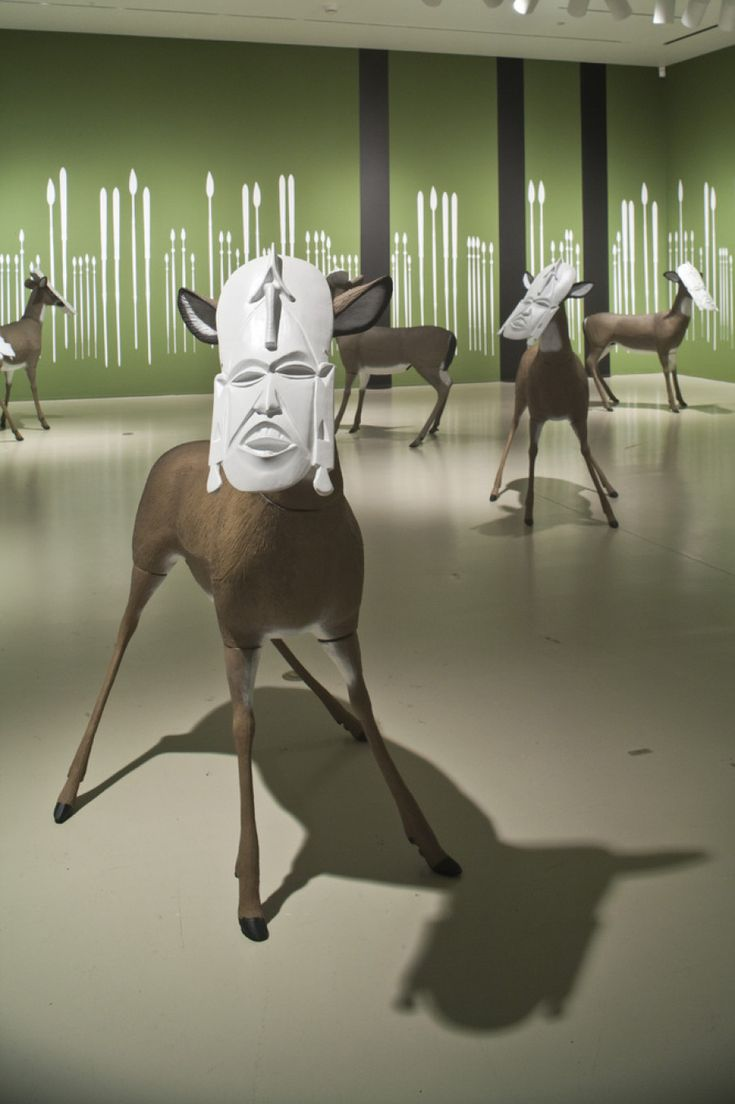 Global African Artists Explore The Meaning Of Disguise In The 21st Century