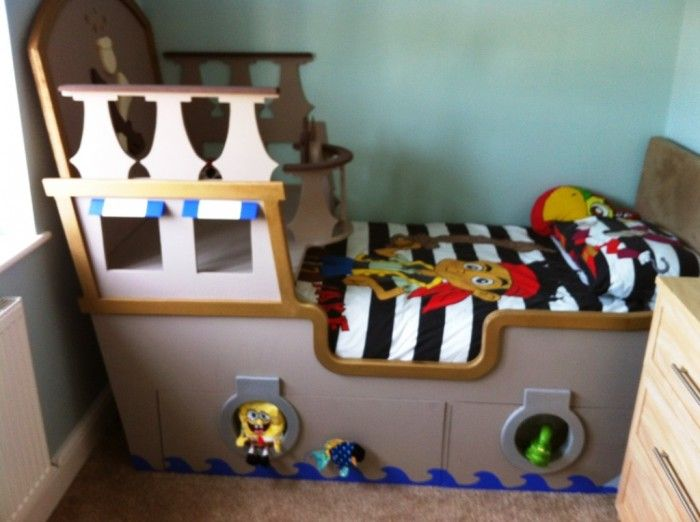 Pirate Ship Beds In 12 Realistic Designs   Interior Design Inspirations