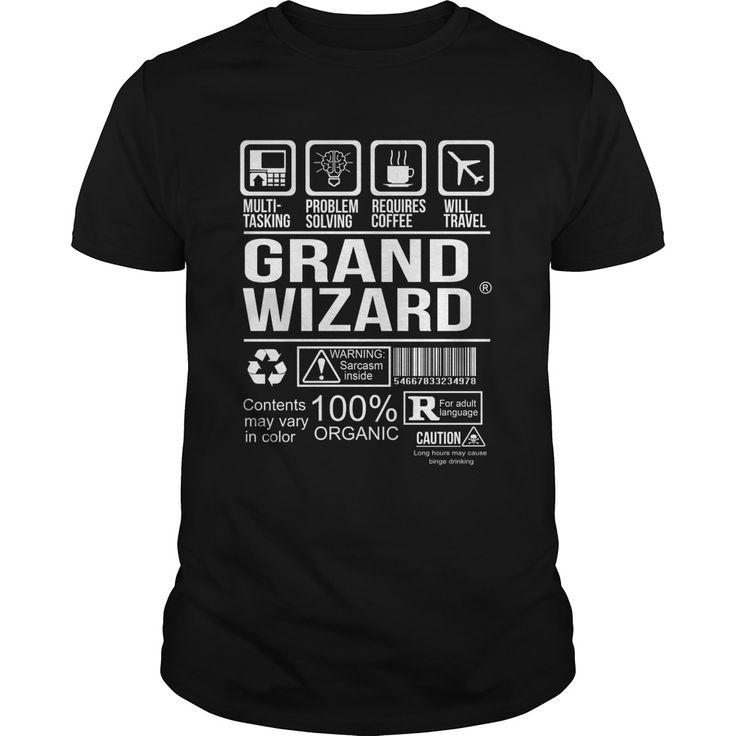 Grand wizard - Tshirt