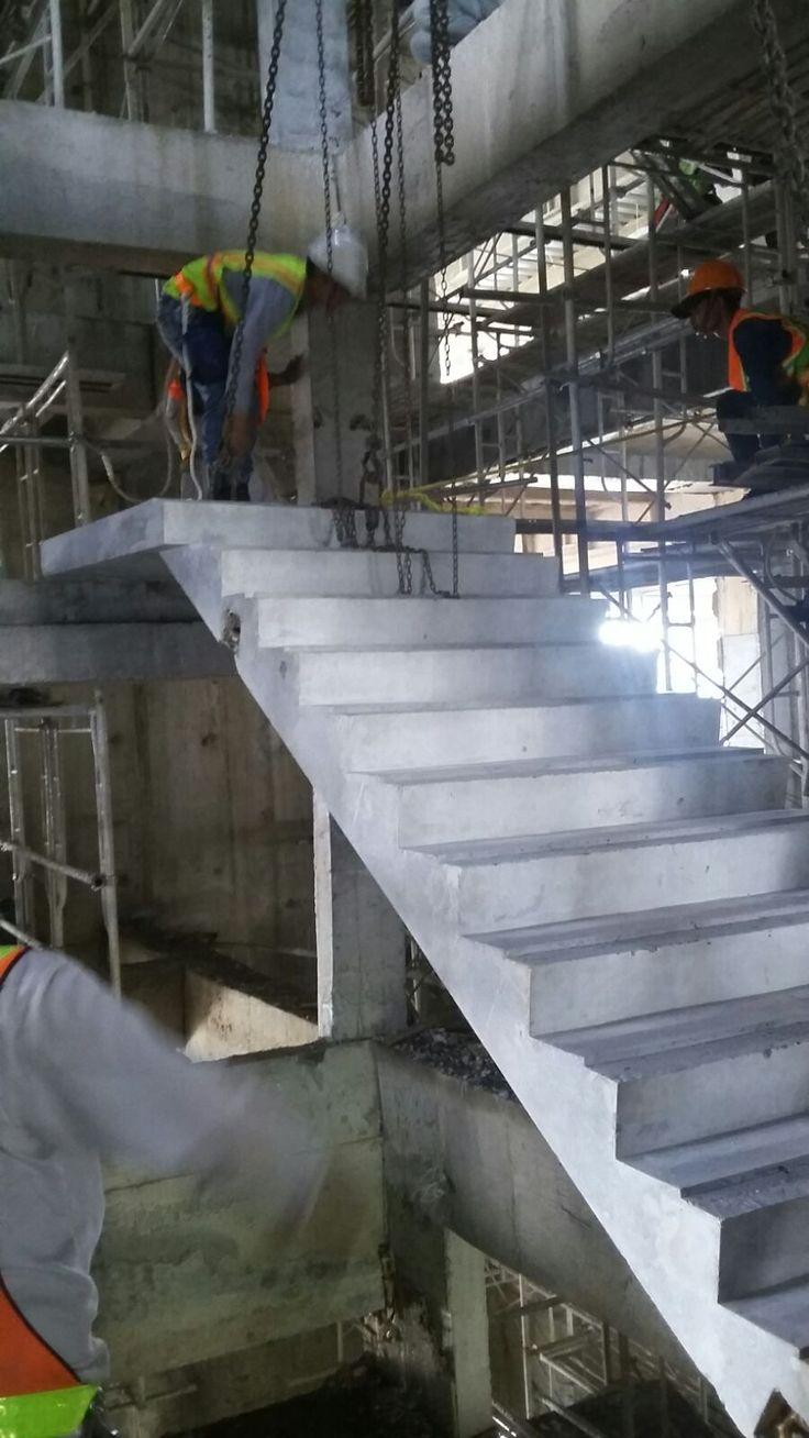 SCBD - Precast Stair - Jakarta