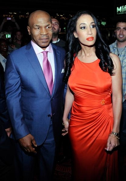 Mike Tyson and wife http://www.examiner.com/article/mike-tyson-s-wife-s-lawsuit-famed-mark-j-geragos-is-her-attorney