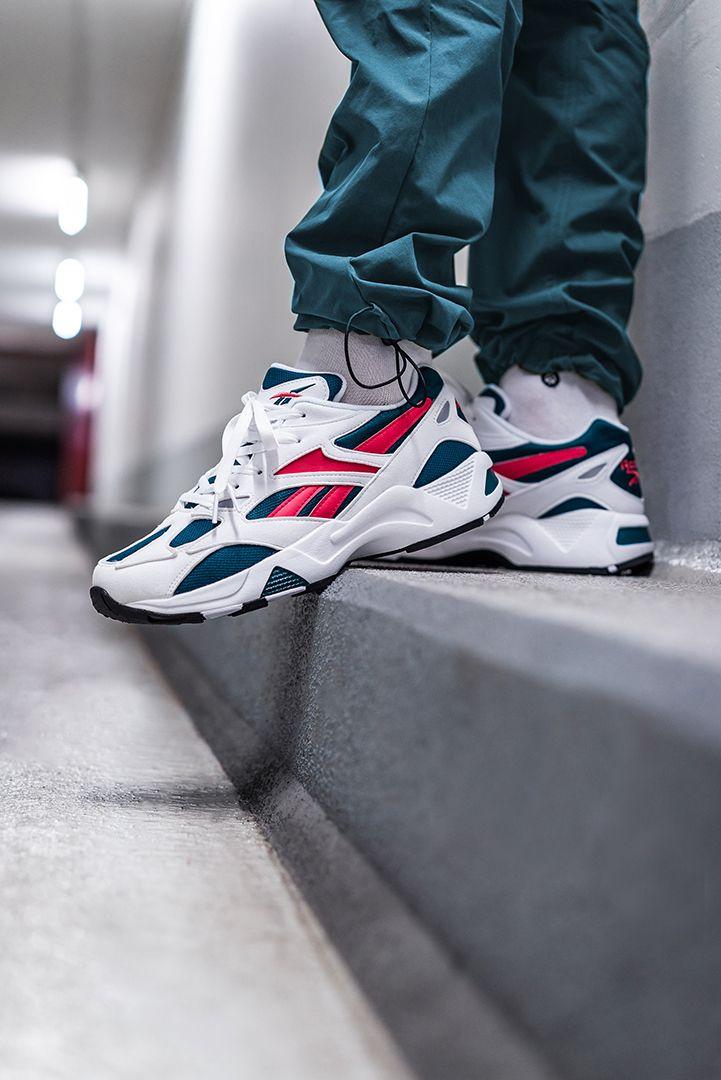 Reebok Aztrek 96 Deep Teal DV6755 | Sneakers en 2019