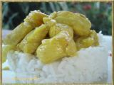 Receta de pollo con coco y mango