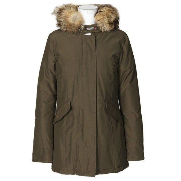 Woolrich Arctic Parka Women Anorak Breen Sale