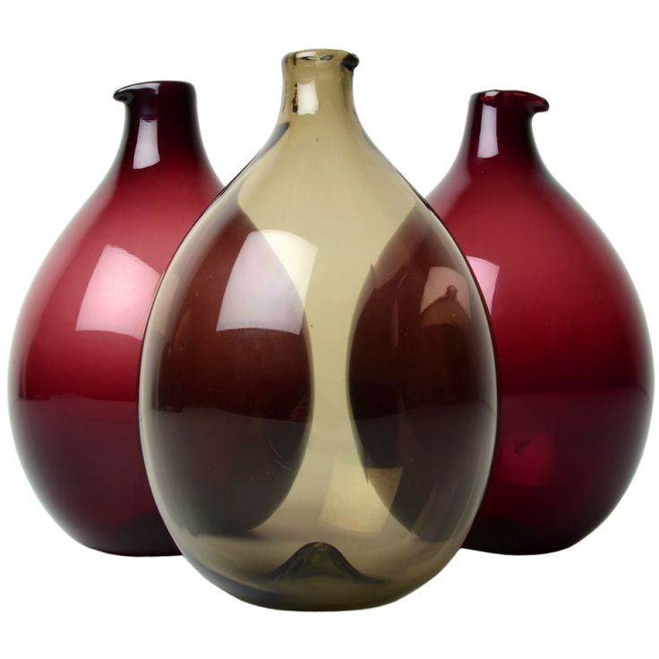 Timo Sarpaneva I-Glass Bird Decanters | From a unique collection of antique and modern glass at https://www.1stdibs.com/furniture/dining-entertaining/glass/