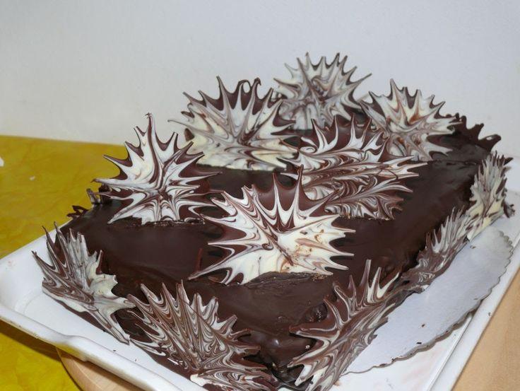 Рецепт - Украшение шоколадом от videokulinaria.ru