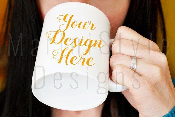 White Mug Mockup Styled Stock Photography, Stock photo, Stock image, White Coffee Mug, Best Wife Mug Mockup, Best Mom Mug Mock up, 373