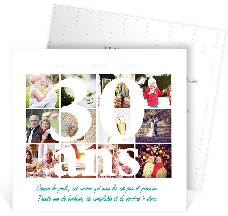 Gut bekannt 46 best Invitation anniversaire de mariage images on Pinterest  IJ37