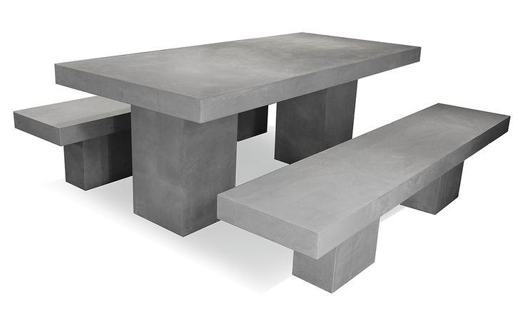 Afbeeldingsresultaat Voor Table En Beton   Outdoor Stone