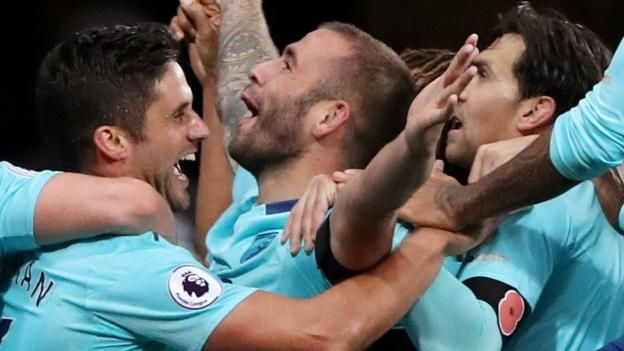 """Newcastle United 0-1 Bournemouth      Bournemouth manager Eddie Howe says Steve Cook's injury-time winner against Newcastle could be a """"key turning point in our season"""" after the Cherries move out of the Premier League relegation zone. http://www.bbc.co.uk/sport/football/41785783"""