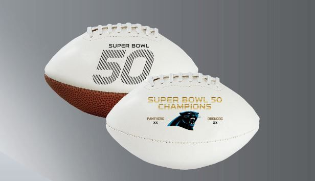 Denver Broncos Super Bowl 50 Champion Full Size Football - Special Order