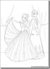 35 Colouring Templates Of Frozen