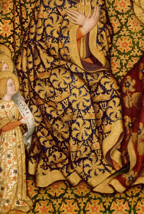Gentile da Fabriano. Detail from Coronation of the Virgin, 1420.