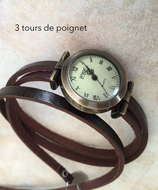 Epingle Sur Les Montres Bracelets Multi Tours