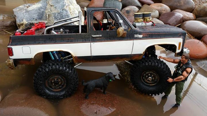 RC4WD 1/10 RC Crawler • Chevrolet Blazer Hard Body Set ...