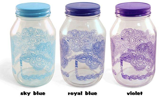 ARTjars! Gorgeous and durable artisan mason jars. by Becky Augustine — Kickstarter