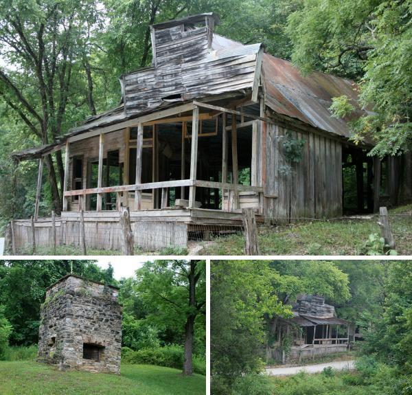 Rush, Arkansas, abandoned