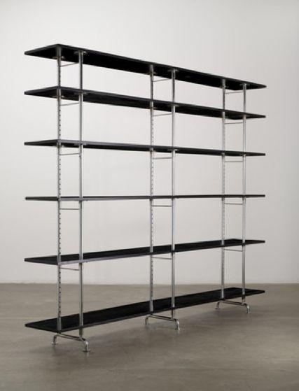 Marcel Breuer; Freestanding Shelves for Embru, c1934.
