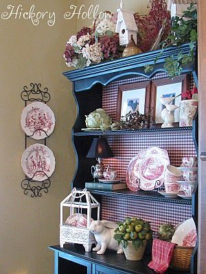 At Home in the Country: French Country Cupboard