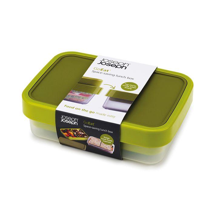 Ланч-бокс компактный goeat™ зелёный, L 19 см, W 13,5 см, H 5,5 см, Joseph Joseph, Великобритания, арт. 50131, фото 7