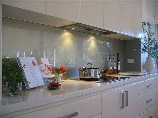 Acrylic Splashback Kitchen Gloss Google Search Modern Kitchen