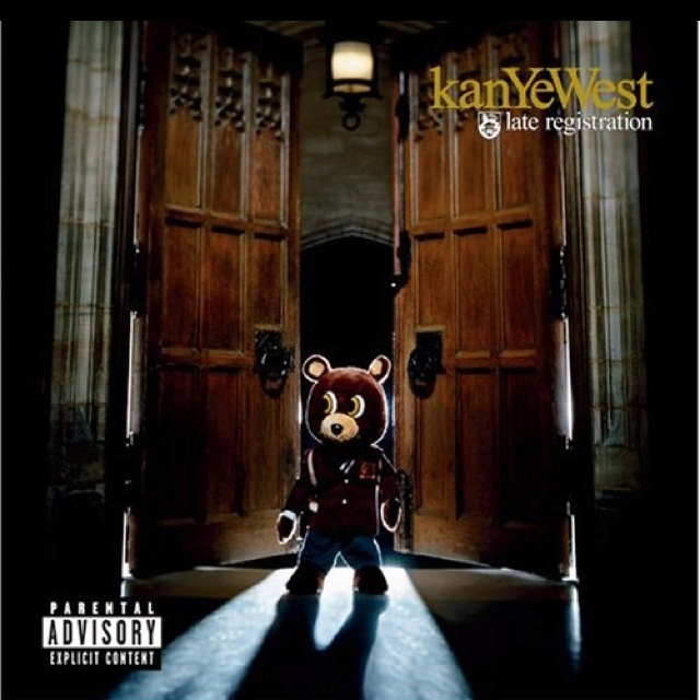 """Late registration - Kanye West.  Kanye's sophomore effort.  There isn't really a low point to this one.  Cool orchestral influences in many of the songs.  Favorite Track: """"Gone"""""""