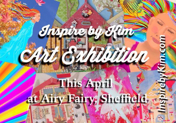 Art Exhibition on now Airy Fairy, Sheffield #inspirebykim #artsheffield