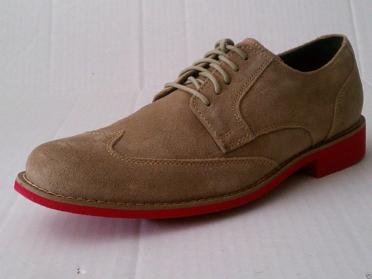 Cole Haan Men Size 9.5 wing tip #shoes MILKSHAKE SUEDE model made in  INDIA  New ColeHaan visit our ebay store at  http://stores.ebay.com/esquirestore