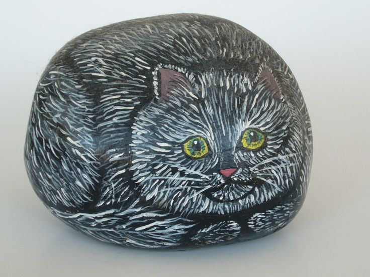 I painted this rock few years ago.