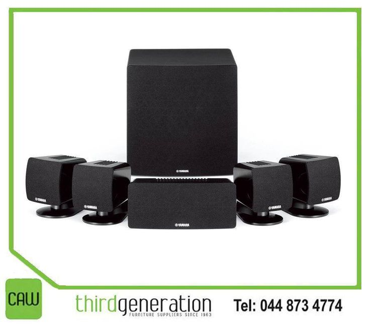 The #Yamaha NS-P285 = Compact speakers for 5.1-channel home theatre system is designed to deliver the high quality sound of HD sources. Available from #ThirdGenerationCAW.