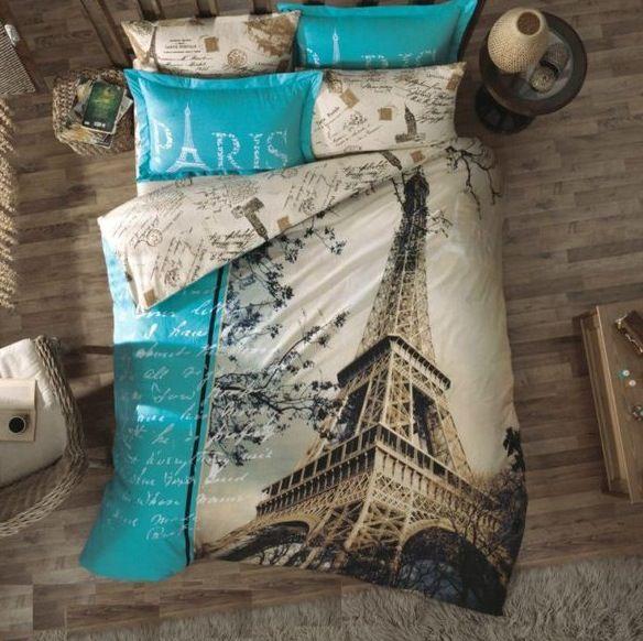 Beautiful Paris Themed Bedroom Décor Ideas
