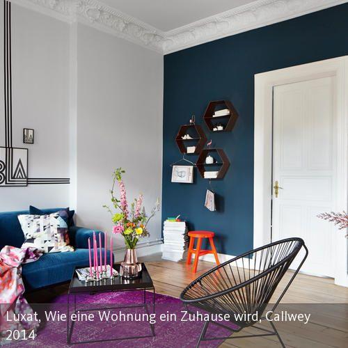 Aus dem Buch von Stefanie Luxat, Wie eine Wohnung ein Zuhause wird, Callwey 2014