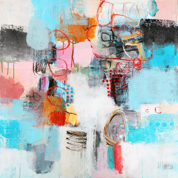 """Abstract III"" by Kitti Narod www.tuskgallery.com.au"