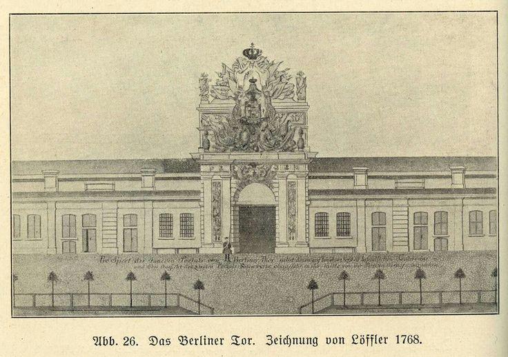 Berliner Tor at 1768
