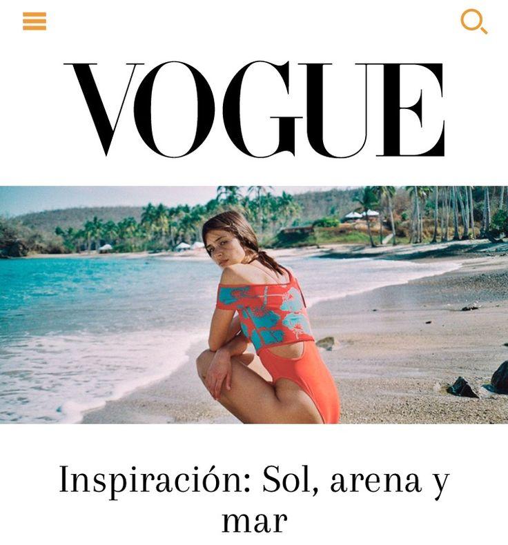 Sol, arena y mar en un destino auténtico en #México. Una historia de inspiración para vacaciones en playa. Fotografía: @aldo_decaniz  http://m.vogue.mx/moda/estilo-vogue