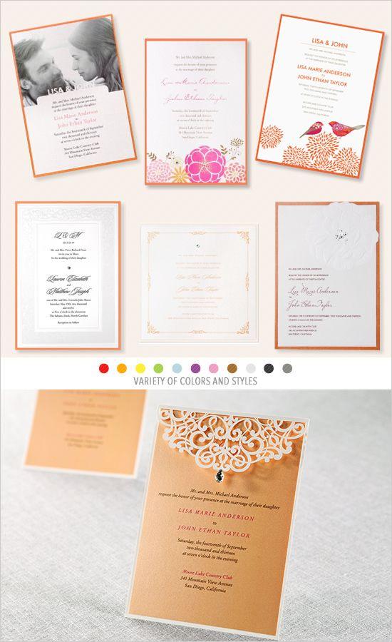 B Wedding Invitaitons