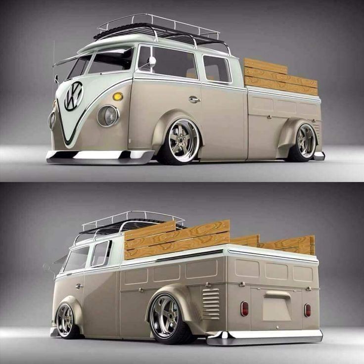 Custom VW Bus by Rendered Rides. Check out Facebook and Instagram: @metalroadstudio Very cool!