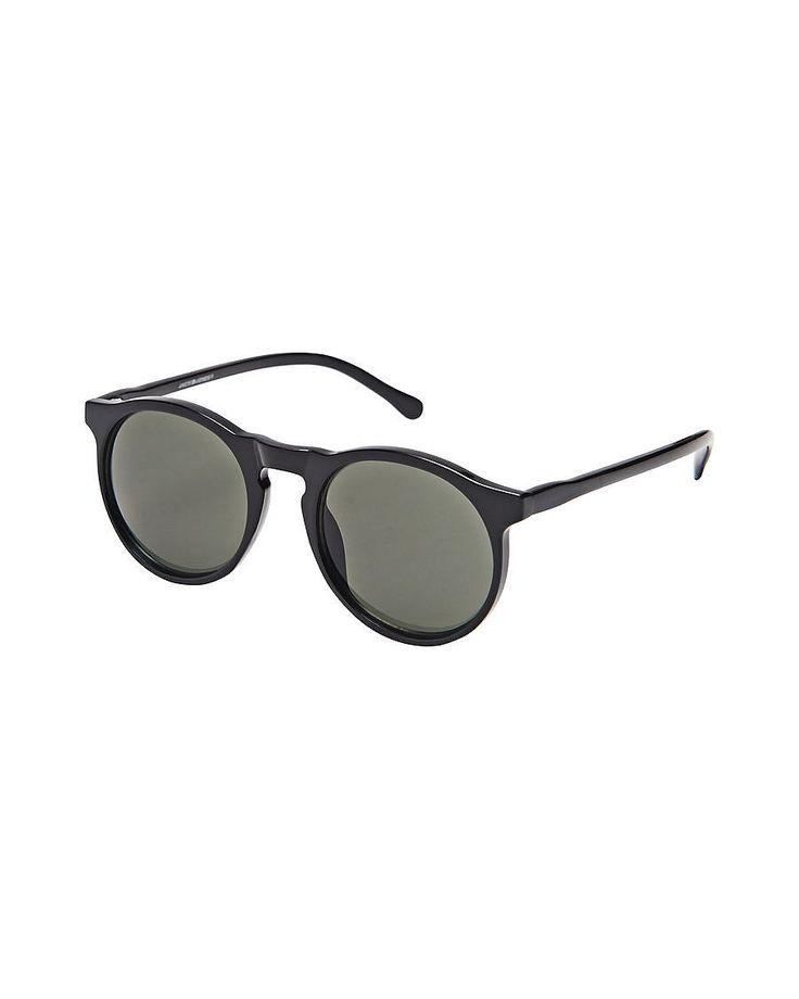 Accessories by JACK & JONES - Retro-Sonnenbrille von ACCESSORIES - UV-Schutz: 3 - Inklusive Reinigungstuch 70% Plastik, 30% Metall...