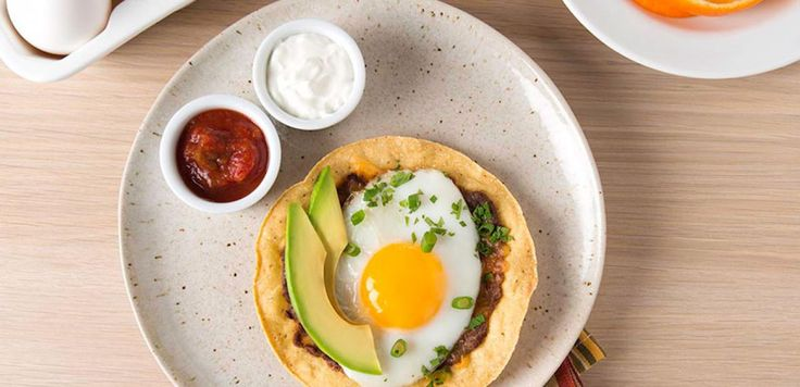 Sunday breakfast gets a Mexican twist with refried beans and everyone's favourite fixings.