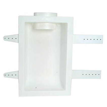Ez Flow Dryer Vent Box Recessed Hookup Venting Kit For