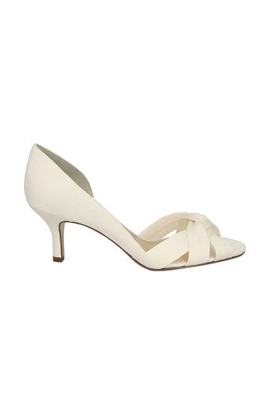 Nina 'Crista' Pump available at #Nordstrom- in silver