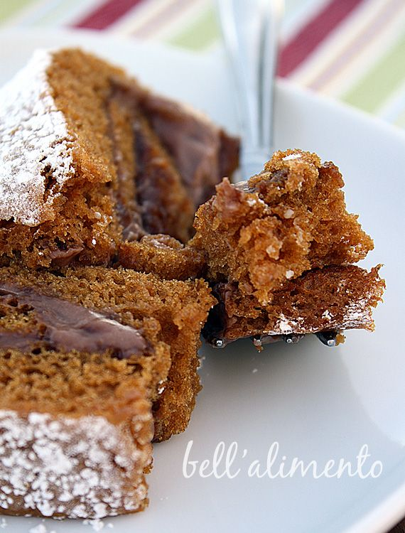 Gluten Free Pumpkin Roll with Mascarpone and Nutella Filling | Recipe