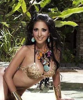 Cynthia Urias en Piel de Estrellas, luciendo collar Jenny Rabell. Compra  accesorios Jenny Rabell